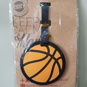 Other - Basketball luggage tag